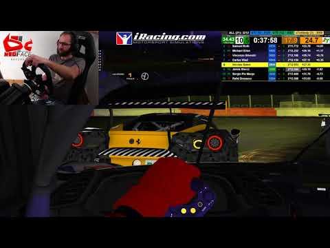 Course difficile de nuit à Spa en Ferrari GTE !