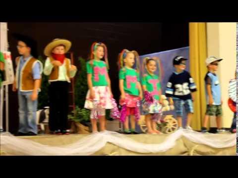 Ripley Kindergarten grads perform Silly Rock Star Song June 25, 2014 MOV
