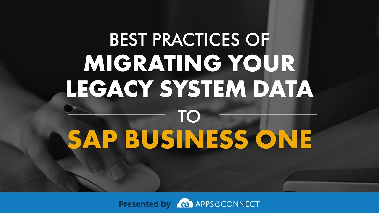 Webinar Best Practices Of Migrating Your Legacy System
