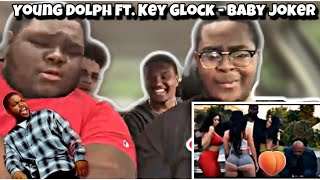 THEY REMADE FRIDAY! Young Dolph ft. Key Glock - Baby Joker | REACTION | D R E A M E R S