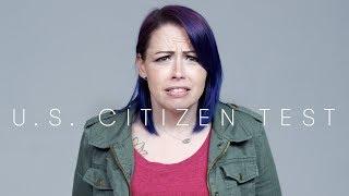100 People Take the U.S. Citizenship Test   Keep It 100   Cut
