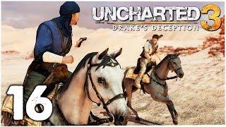 A CARAVANA ( muito TOP)   UNCHARTED 3: Drake's Deception #16   Gameplay Playthrough PS4/PT