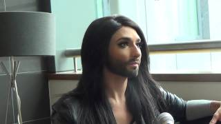 ESCKAZ in Amsterdam: Interview with Conchita Wurst (Austria)