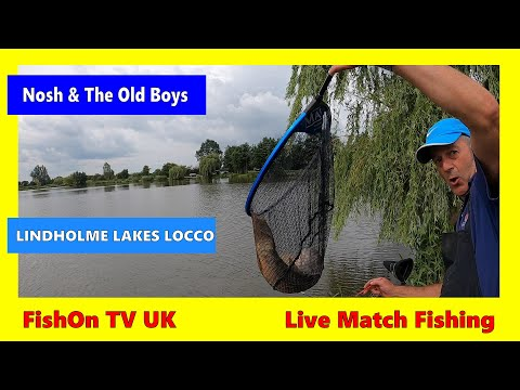 FishOn TV UK : LIVE MATCH FISHING : LINDHOLME LAKES LOCCO POND : AUGUST 2020