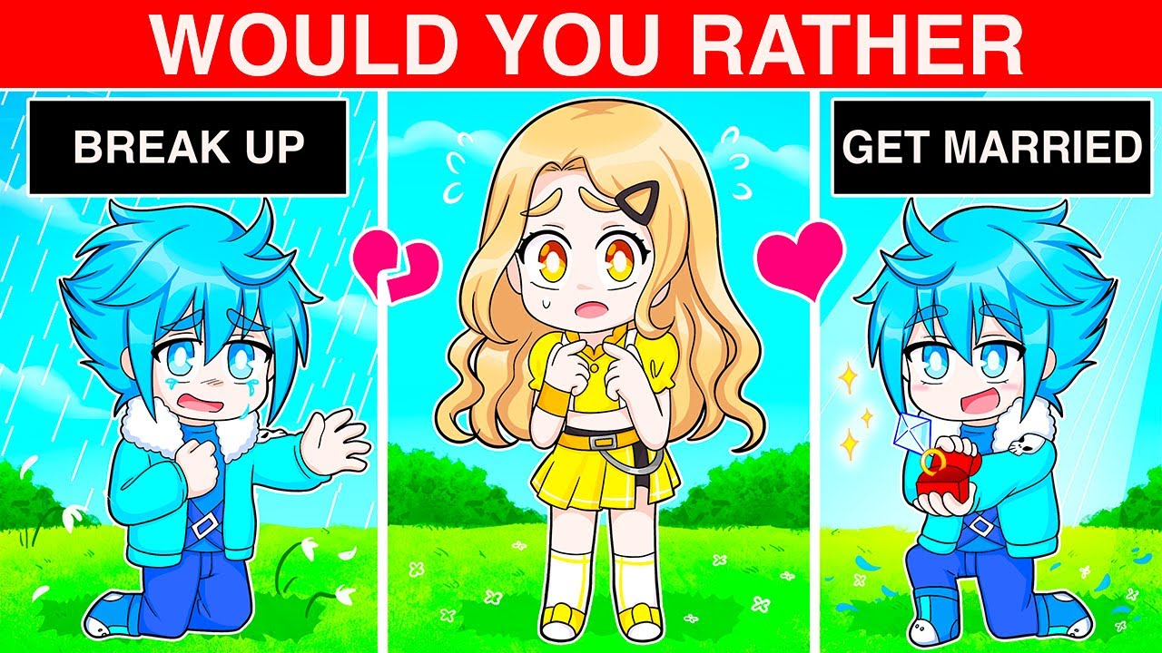 Will We Break Up... (Roblox Would You Rather)