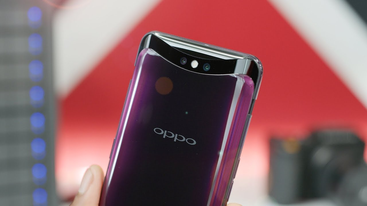 Oppo Find X: Motorized Madness! - YouTube