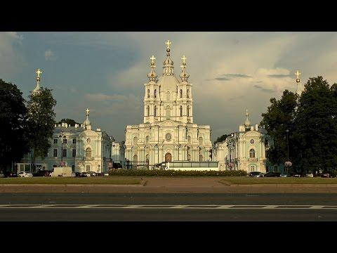 Собор Смольного монастыря в Санкт-Петербурге