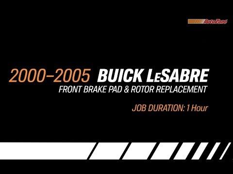 Buick LeSabre Front Brake Pads & Rotors Replacement – 2000-2005 – Make Model Series
