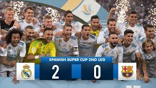 Real Madrid 2-0 Barcelona  HD 1080i (Spanish Super Cup) Full Match Highlights 16/08/17 HD