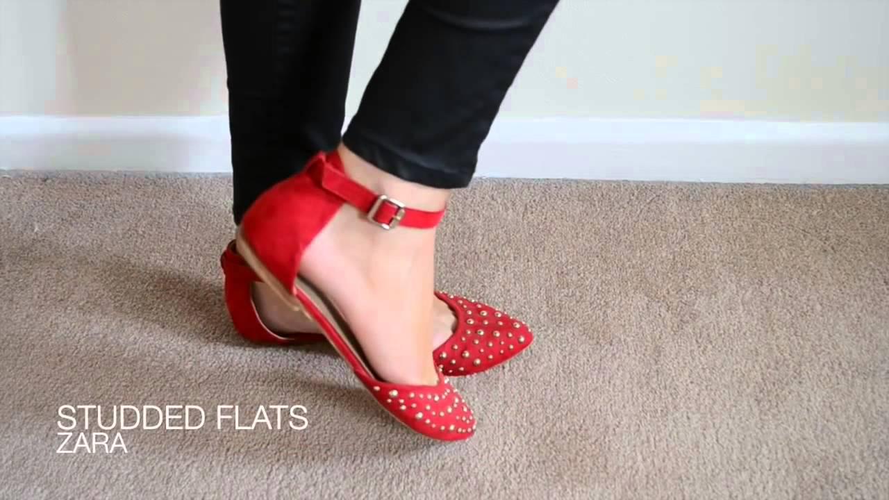 9ad2bc2e7e Flat shoes season is coming! AllhqFashion!---Fashion trendy leather ...