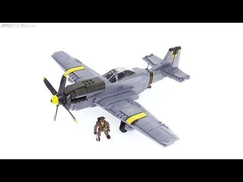 Mega Bloks P-51D Mustang CoD Air Combat Ace set review!