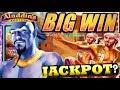 ★ BIGGEST ON YOUTUBE ★ ALADDIN'S FORTUNES 3D slot machine LIVE PLAY MASSIVE BONUS WIN!