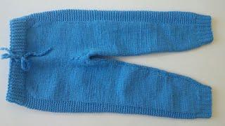 Örgü Pantolon Yapılışı - Kolay Pantolon Nasıl Örülür?