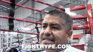ROBERT GARCIA PLEASED WITH JULIO CESAR CHAVEZ JR. IN TRAINING CAMP: