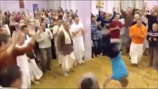 Epic Hare Krishna Russian Hip Hop Dance