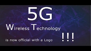 5g a wireless technology is now has a logo