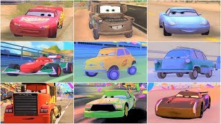 Video Cars 1 - Cars 2 - Cars 3 MEGA Gameplay Compilation With All Characters download MP3, 3GP, MP4, WEBM, AVI, FLV Agustus 2018