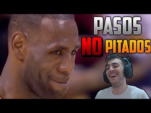 REACCIONANDO A LOS PASOS MÁS DESCARADOS NO PITADOS EN LA NBA