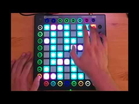 Knight Rider Theme on a Launchpad