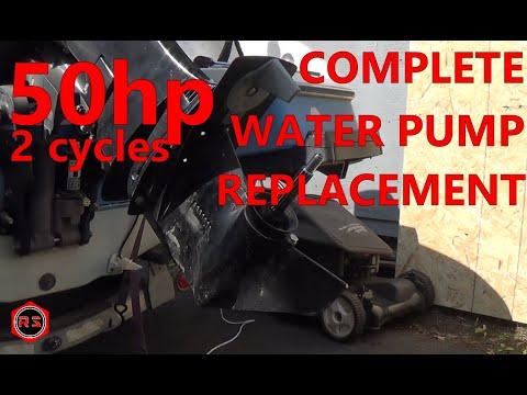 Mercury 50HP 2 stroke complete water pump replacement