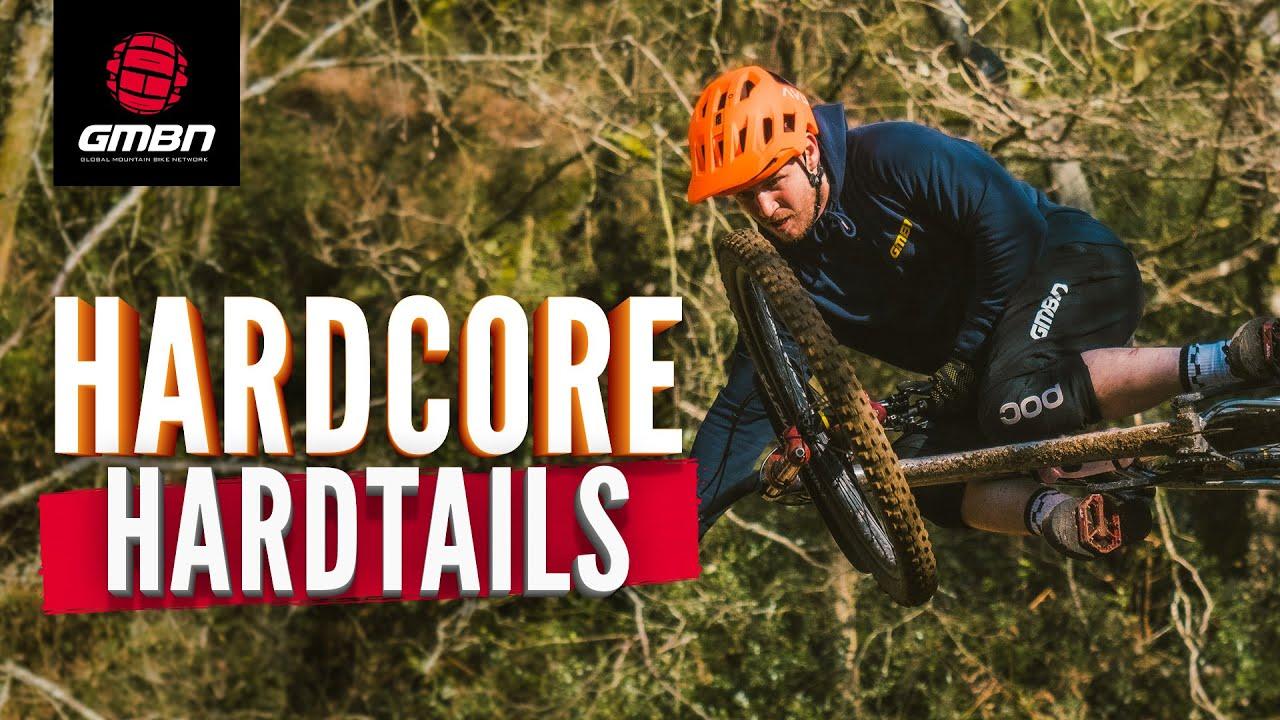 How Hard Can You Ride A Hardtail Mountain Bike? | Neil & Blake Hardtail Shredding