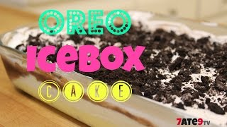 How To Make Oreo Icebox Cake (easy)