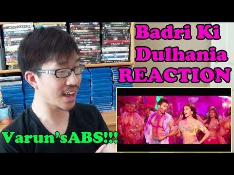 Badri Ki Dulhania (Title Track) REACTION | Varun | Alia