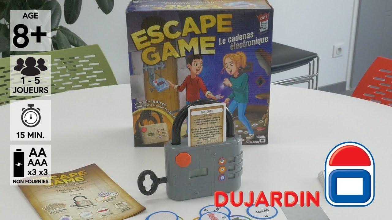 escape game grand prix du jouet 2017 d mo du jeu de soci t en fran ais hd fr youtube. Black Bedroom Furniture Sets. Home Design Ideas