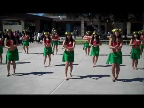 He Mele No Lilo / Ote'a - UCHS Polynesian Dance Team @ UCHS Club Rush