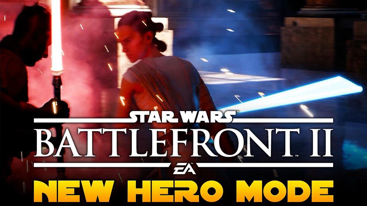 Star Wars Battlefront 2 NEW Hero Game Mode Blast Or Heroes Vs Villains