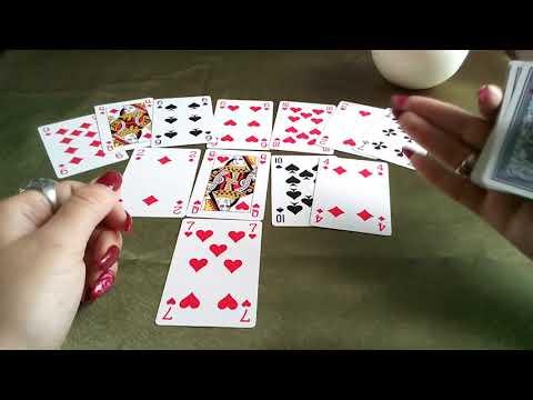 Гадания на игральных картах на прошлое настоящее будущее гадания на ситуацию карты ленорман