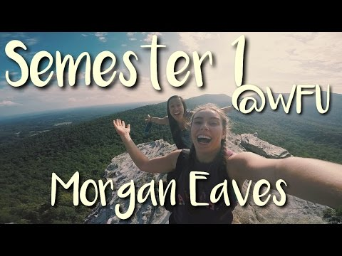 Semester 1 WFU// Morgan Eaves