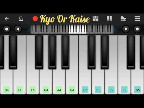 Main Tere Kabil Hu Ya Tere Kabil Nahi | Kabil Movies | Full Easy Piano Notes | By Dev