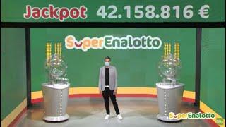 SuperEnalotto - Estrazione e risultati 23/05/2020