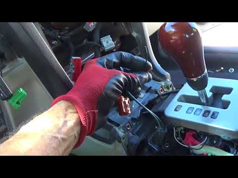 Lincoln Ls Gear Shifter Console Unit Removal