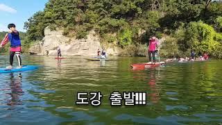 런키즈 액티비티스쿨 오픈워터수영팀 여주 남한강 도강