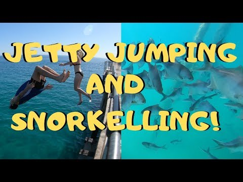 PORT NOARLUNGA JETTY JUMPING AND SNORKELLING!!