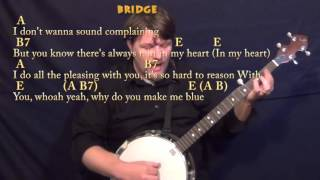 Please Please Me (BEATLES) Banjo Cover Lesson with Chords/Lyrics