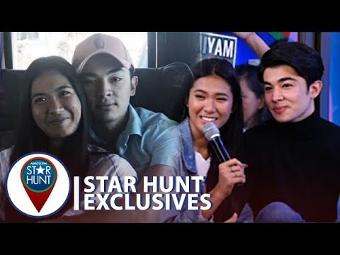 Lou and Andre watch their sweet moments in Gen San  Star Hunt  Corner
