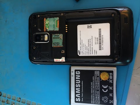 How to Fix Samsung galaxy S2 LTE ,HD