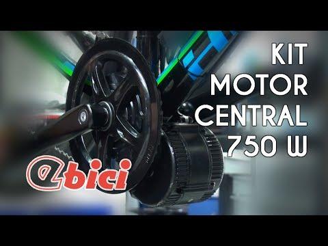 De MTB a eléctrica con el kit de motor central 750 W de Ebici