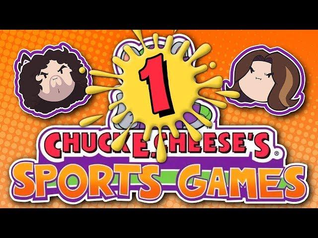 Chuck E. Cheese's Sports Games: I Am Friend Dog - PART 1 - Game Grumps VS