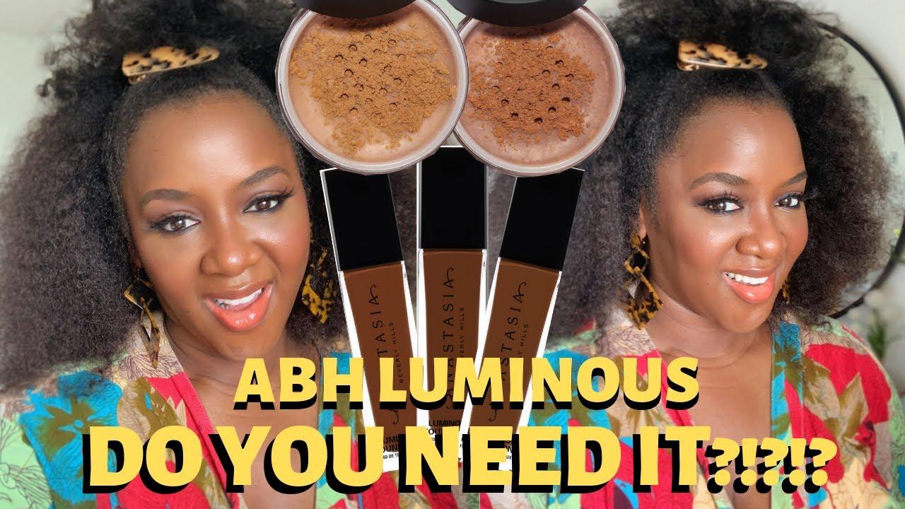 Ana Stasia & Co abh luminous foundation & loose powders review (510w, 520w, 530n, 540w,  560w)
