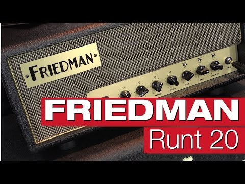 Friedman Runt 20 E-Gitarrenverstärker-Review von session