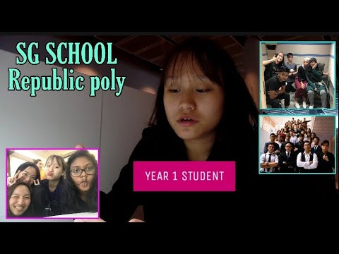 [POLY EP 1]: How is it like being a Singapore student ,Republic polytechnic *YEAR 1* ?