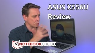 aSUS X556U Review and test results