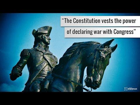 George Washington on the Power to Declare War