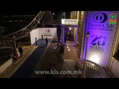 Diners Macedonia '20 Godini postoenje'  by KLS Events
