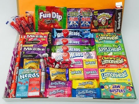 BRITISH PEOPLE TRYING AMERICAN CANDY - WednesdaySpecial #4