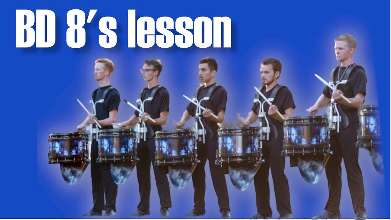 Learn BD 8's Triplet Legato Strokes Exercise